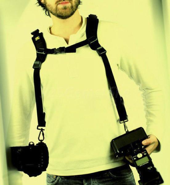 Плечевой ремень на две камеры quick Double Strap