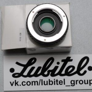 Адаптер, переходник Minolta MD/MC - Canon EOS EF с линзой